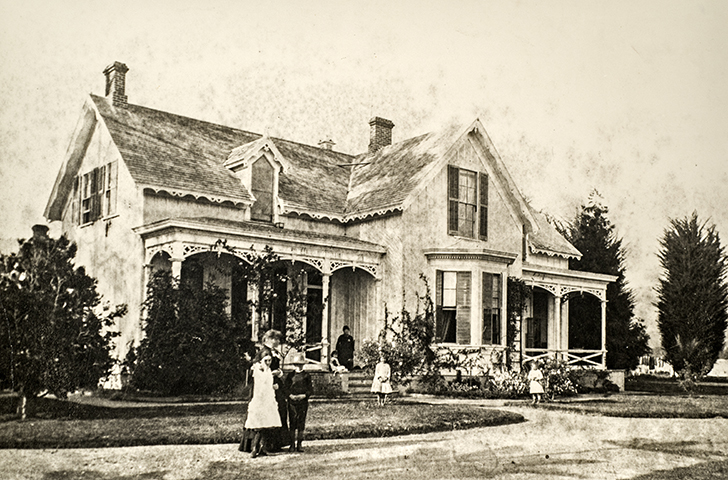 Stow House, 1885