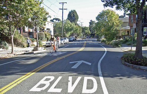 Class III Bike Lanes are bicycle routes, which are preferred routes for people on bikes as compared to other alternatives. These are shared facilities with vehicles and other road users.