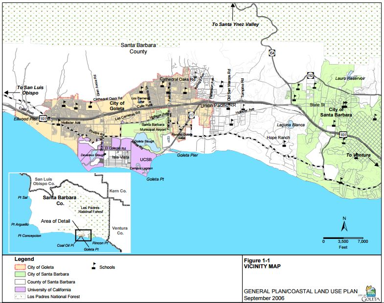 map of goleta