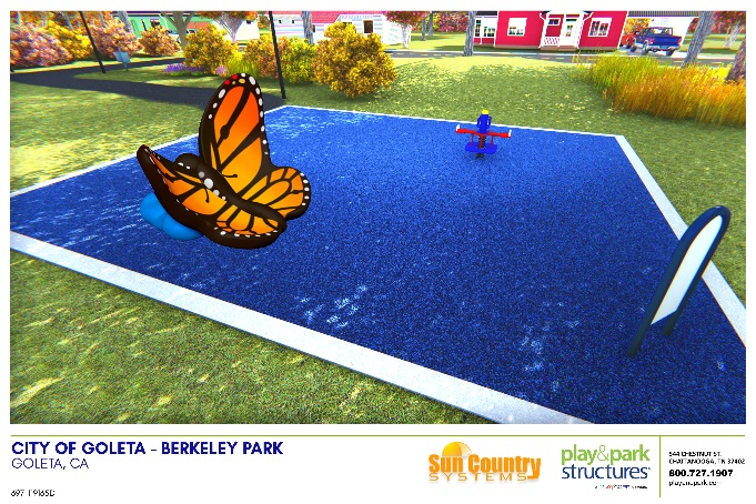 Berkley Park Butterfly Rendering
