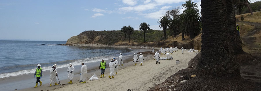 Refugio Oil Spill Clean-Up