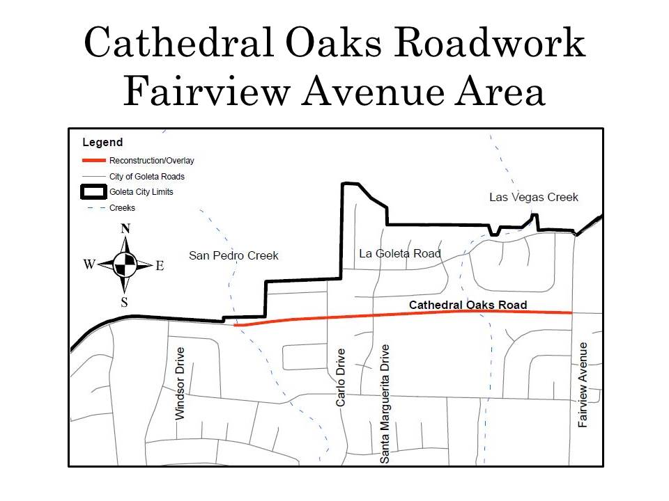 Cathedral Oaks Roadwork_Fairview