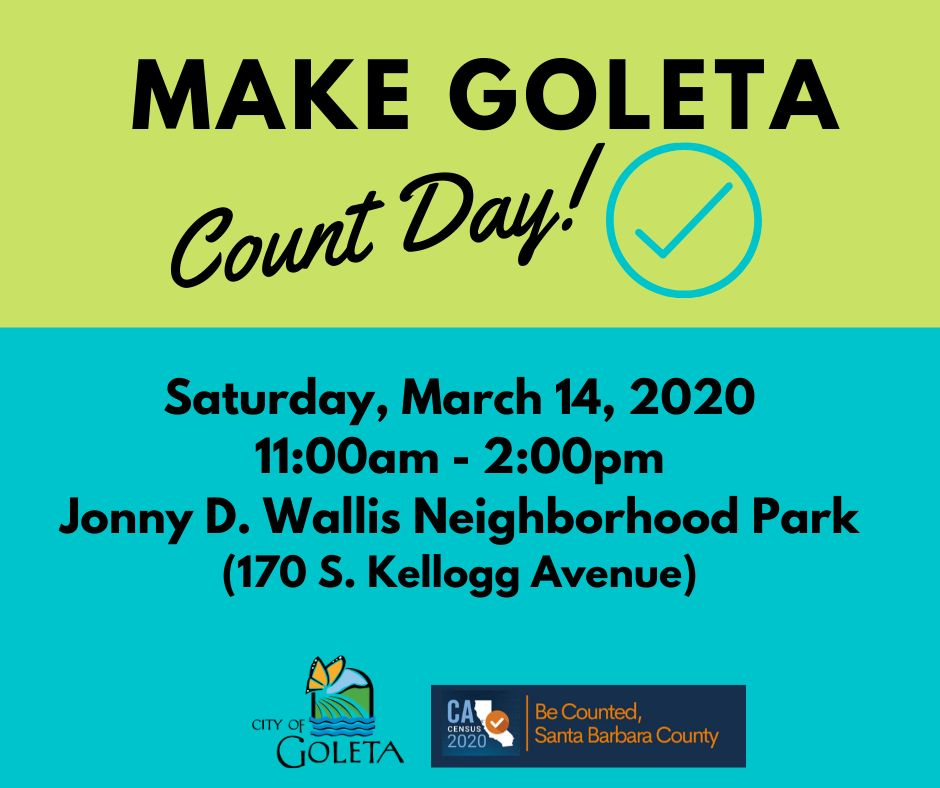 Make Goleta Count Day Graphic