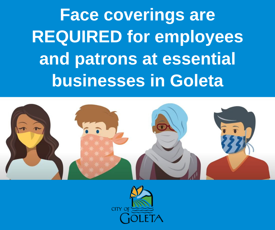 Face Coverings Graphic