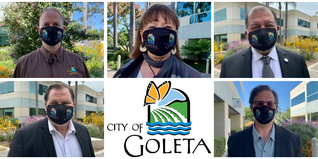 Council Members with Face Coverings_Twitter