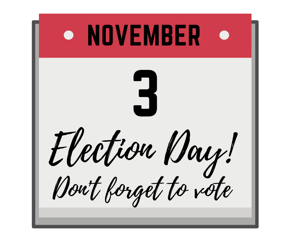Nov. 3 Election Day Calendar_FB